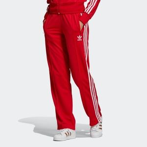 NEW Adidas Originals Red Firebird Track Pants